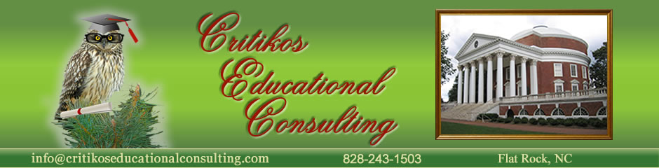Critikos Educational Consulting in Hendersonville / Flat Rock NC